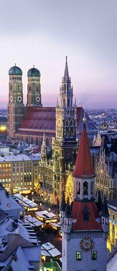 Munich, Germany...alguna vez han sentido que pertenecen a otro lugar?, yo pertenezco ahi...