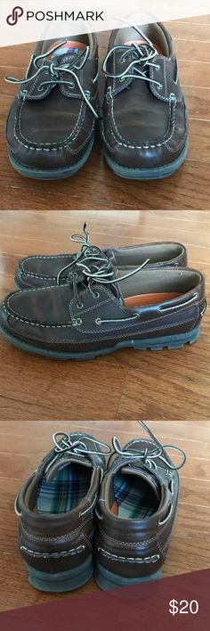 Boys casual shoes Loafer/boat shoes. Gently worn Madison Avenue Shoes Dress Shoes