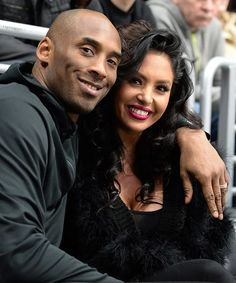 Los Angeles Lakers Guard Kobe Bryant and his wife Vanessa Bryant pose for a photo during a game between the Los Angeles Kings and the Washington Capitals at STAPLES Center on March 2016 in Los. Get premium, high resolution news photos at Getty Images Kobe Bryant And Wife, Kobe Bryant Family, Kobe Bryant Nba, Kobe Bryant Daughters, Vanessa Bryant, Lebron James, Kobe Bryant Pictures, Kobe Mamba, Lakers Kobe
