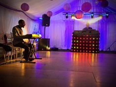 DJS Entertainment - #TeamDJS https://www.facebook.com/DeeJaySolutions  Marquee Wedding Reception