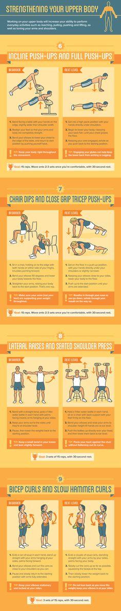 Strengthening Your Upper Body: 8 Upper Body Exercises