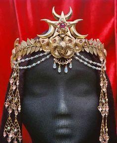 Egyptian goddess crown   Egyptian Crowns