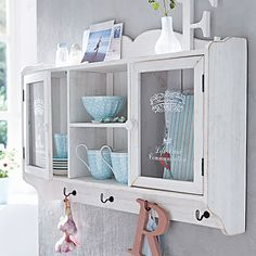gorgeous wall hutch! so in love!