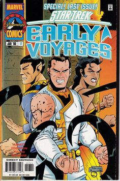 Star Trek The Early Voyages 17 June 1998 Issue  by ViewObscura