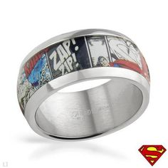 Superman Ring.. Because he's my Superman!