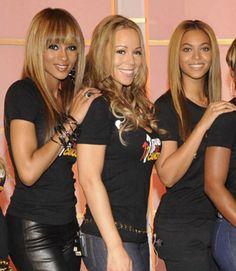 Ciara, Mariah and Beyonce Girl Bands, Boy Band, Estilo Beyonce, Beyonce Style, Black Girls Rock, Black Girl Magic, My Black Is Beautiful, Beautiful Women, Celebrity Photos