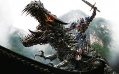 WALLPAPERS HD: Optimus Prime on Dinobot