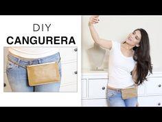 DIY CREA UNA CANGURERA FASHION - Fashion Riot - YouTube