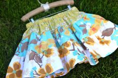 Layer Cake Skirt - for a little girl