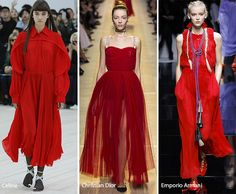 Spring/ Summer 2017 Color Trends: Red