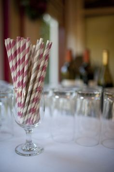 It's All in The Details-- A Lovely Napa Wedding — The Lovely Bay    {wedding, reception, decor, paper straws, fun,}    Photo by Nikki Ritcher Photography