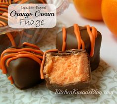 Oh.  My.  Goodness.  Do you want your taste buds to sing this holiday season?  Make.  This.  Fudge.  It's so easy to make.  Go ahead.  Make some now.  Here's the recipe: Chocolate Dipped Orange Cream Fudge 6042462  Ingredients 3 cups granulated sugar 3/4 cup butter 2/3 cup evaporated milk (not sweetened condensed milk) 12 oz. orange [...]