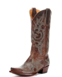Women's Diego Boot - Rust/Turquoise