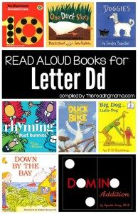 Letter D Books - Book List compiled by This Reading Mama Preschool Letters, Letter Activities, Preschool Books, Preschool Activities, Summer Activities, Boot Camp, Letter D Crafts, Alphabet Crafts, Read Aloud Books