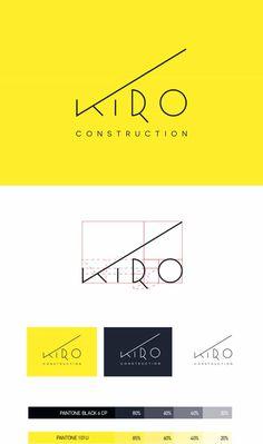 business infographic construction logo design inspiration building modern symbols home ideas Design Web, Modern Design, Food Design, Corporate Design, Corporate Identity, Logo Branding, Branding Ideas, Design Logo Inspiration, Creative Inspiration
