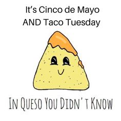 "SmartMouth on Instagram: ""Just in Queso you didn't know, tomorrow is Cinco de Mayo, AND Taco Tuesday (or Toothsday, as we like to say)!! Taco bout good reasons to…"" Taco Tuesday, Dental, This Is Us, Tacos, Teaching, Marketing, Sayings, Instagram, Cinco De Mayo"
