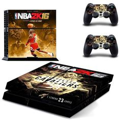 NBA 2k 16 design skin for ps4 decal sticker console & controllers
