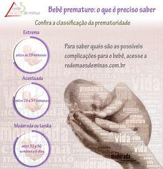 Você sabe quando o bebê é considerado prematuro? A Rede Mães de Minas apresenta as fases de classificação da prematuridade. Confira! #bebe #prematuro #prematuridade #mae #maes #redemaesdeminas #classificacao #fases #gravidez