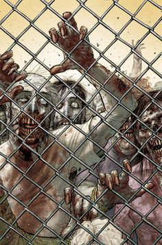 The Walking Dead by Tony Moore