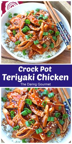 Look no further for the BEST Crock Pot Teriyaki Chicken recipe! Hands off, fuss free, 10 minutes of prep time, and you'll come home to a delicious, ready meal!