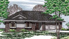 Traditional House Plan 97955 Elevation