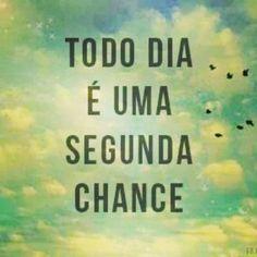 É uma segunda chance