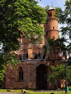 Fabulous View of a old tomb the oldest building in Saarland Mettlach Saarland