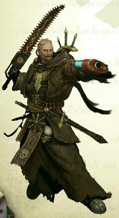Warhammer 40k Chaos Sorcerer