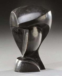 Gustave Miklos (1888-1967) - Tête Cubiste M.MAP 3D SCULPTURE,M.M. IDEAS!!!!!!!!!!!!!!!!!!!!!!!!!!!!!!!!!!!!