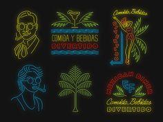 El Famoso Neon Signs by Jonathan Schubert