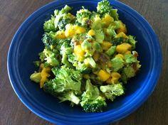 mango avocado broccoli salad