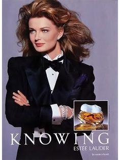 Knowing by Estee Lauder perfume #vintage #advert #beauty