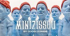 "Codeczombie wants to make your LIFE AQUATIC with his ""miniZISSOU"" resin… #CodecZombie #DesignerToyArtToy #Italian #Italy #LimitedEdition"