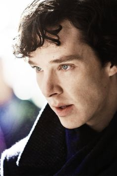 Benedict Cumberbatch as Sherlock Holmes Sherlock Bbc, Benedict Sherlock, Sherlock Holmes Benedict Cumberbatch, Sherlock Fandom, Sherlock Quotes, Watch Sherlock, Martin Freeman, Mrs Hudson, Sherlolly
