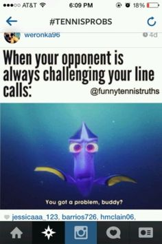 #tennis especially when I get it right on the back line!