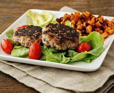 Multiply Delicious- The Food | Apple Mustard Pork Burgers