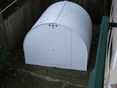 Large Coroplast shelter for the homeless