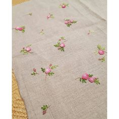 #embroidery #handembroidery #ricamo #brodado #broderie #needlework #rose #flowers #bullion #pink #gachi