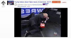 Reddit troll says sorry over Trumps CNN mock video