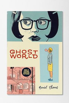 """(another) cover for """"ghost world"""" by daniel clowes"""