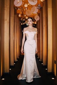 Laure de Sagazan - Exclusive in Ireland and Northern Ireland — The White Gallery Wedding Looks, Chic Wedding, Wedding Styles, Old Hollywood Wedding, Strapless Dress Formal, Formal Dresses, Bridal Boutique, Bridal Dresses, Old Wedding Dresses