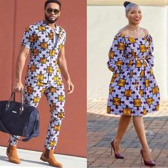 10 Beautiful Traditional Ankara Styles For Couples In 2018 Couples African Outfits, African Wear Dresses, African Clothing For Men, African Fashion Ankara, African Inspired Fashion, Couple Outfits, African Attire, Ankara Styles For Women, Beautiful Ankara Styles