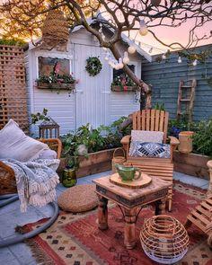 Outdoor Patio Designs, Outdoor Spaces, Outdoor Decor, Patio Ideas, Outdoor Ideas, Backyard Ideas, Garden Ideas, Porches, Decoration
