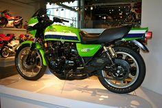 Eddie Lawson Kawasaki. John Podlasek - Google+ Motorcycle Museum picture taken back in Nov. '10.