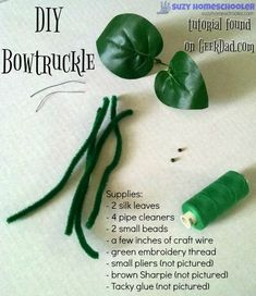 DIY Bowtruckle tutorial from GeekDad.com and Free Printable Adoption Certificate from Suzy Homeschooler (1)