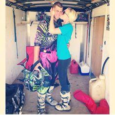 Cute dirtbiking couples