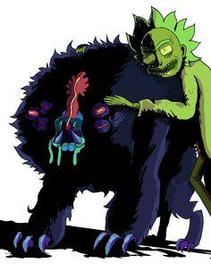 Rick and Morty • Toxic Rick & Pet