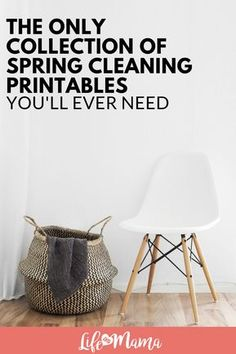 Check out this list of Spring Cleaning Printables to help you clean out this Spring! #springcleaning #printables #cleaningprintables #cleaningchecklist #deepclean #freeprintables