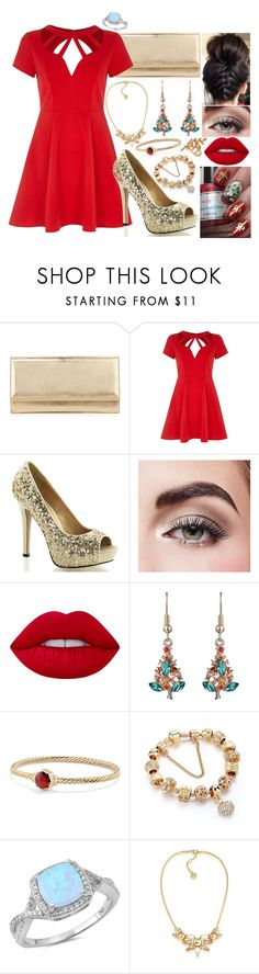 """""""#97"""" by moon-crystal-wolff ❤ liked on Polyvore featuring Jimmy Choo, River Island, Avon, Lime Crime, David Yurman, Trina Turk and Allurez"""