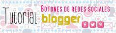 Descargar iconos súper originales e instalar botones de redes sociales en Blogger | Creative Mindly